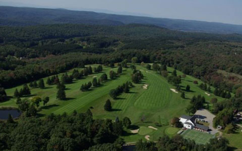 Aerial View - Quaker Hill Country Club